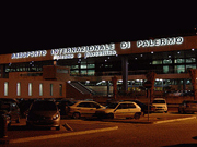 International airport Punta Raisi Falcone Borsellino Palermo